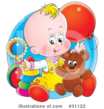 Baby Clipart #31122 by Alex Bannykh