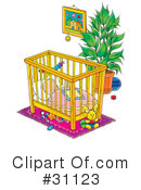 Baby Clipart #31123 by Alex Bannykh
