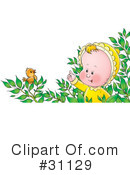 Baby Clipart #31129 by Alex Bannykh
