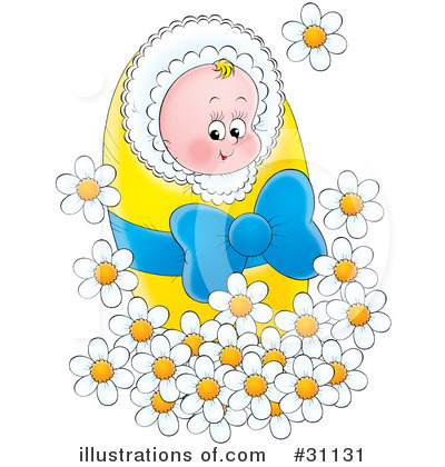 Baby Clipart #31131 by Alex Bannykh