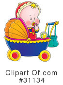 Baby Clipart #31134 by Alex Bannykh