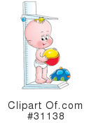 Baby Clipart #31138 by Alex Bannykh