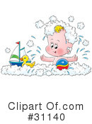 Royalty-Free (RF) Baby Clipart Illustration #31140