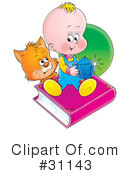 Baby Clipart #31143 by Alex Bannykh