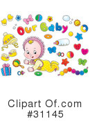 Baby Clipart #31145 by Alex Bannykh