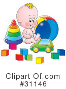 Baby Clipart #31146 by Alex Bannykh
