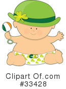 Royalty-Free (RF) Baby Clipart Illustration #33428