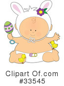 Royalty-Free (RF) Baby Clipart Illustration #33545