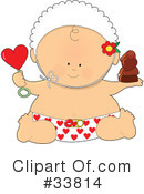Royalty-Free (RF) Baby Clipart Illustration #33814