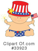 Royalty-Free (RF) Baby Clipart Illustration #33923