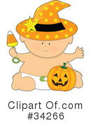 Royalty-Free (RF) Baby Clipart Illustration #34266