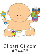 Royalty-Free (RF) Baby Clipart Illustration #34436