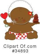 Royalty-Free (RF) Baby Clipart Illustration #34893