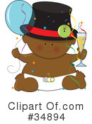 Royalty-Free (RF) Baby Clipart Illustration #34894