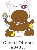 Royalty-Free (RF) Baby Clipart Illustration #34897