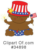 Royalty-Free (RF) Baby Clipart Illustration #34898