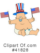 Royalty-Free (RF) Baby Clipart Illustration #41828
