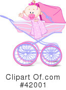 Royalty-Free (RF) Baby Clipart Illustration #42001