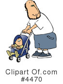 Royalty-Free (RF) Baby Clipart Illustration #4470