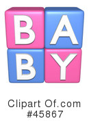 Royalty-Free (RF) Baby Clipart Illustration #45867