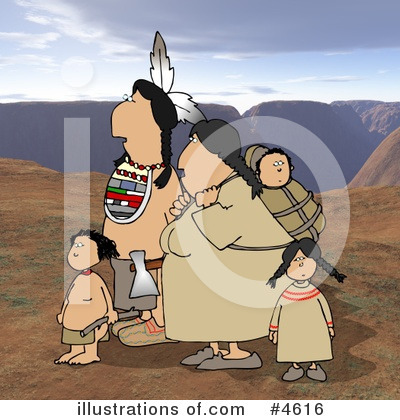 Native American Clipart #4616 by djart
