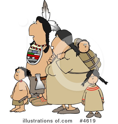 Native American Clipart #4619 by djart