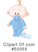 Royalty-Free (RF) Baby Clipart Illustration #50059