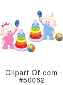 Royalty-Free (RF) Baby Clipart Illustration #50062