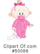 Royalty-Free (RF) Baby Clipart Illustration #50066