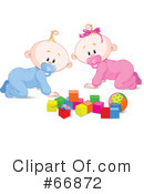 Royalty-Free (RF) Baby Clipart Illustration #66872