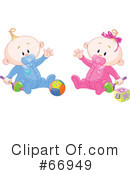 Royalty-Free (RF) Baby Clipart Illustration #66949
