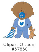 Royalty-Free (RF) Baby Clipart Illustration #67860