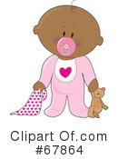 Baby Clipart #67864 by Maria Bell
