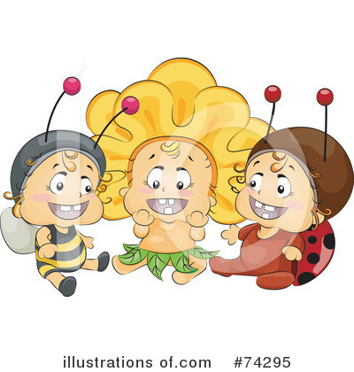 Bee Clipart #74295 by BNP Design Studio