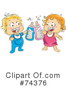 Royalty-Free (RF) baby Clipart Illustration #74376