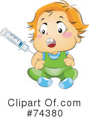 Royalty-Free (RF) Baby Clipart Illustration #74380