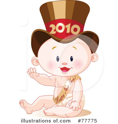 New Year Baby Clipart #77775 by Pushkin