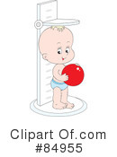 Royalty-Free (RF) Baby Clipart Illustration #84955