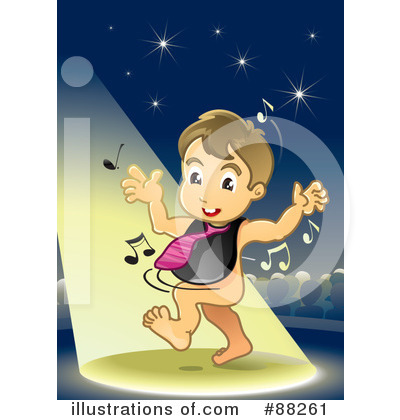 Royalty-Free (RF) Baby Clipart Illustration by NoahsKnight - Stock Sample #88261