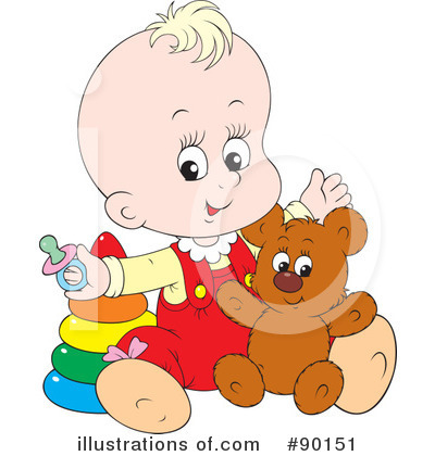 Baby Clipart #90151 by Alex Bannykh