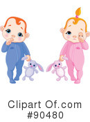 Royalty-Free (RF) baby Clipart Illustration #90480