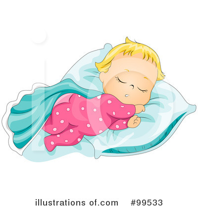 Royalty-Free (RF) Baby Clipart Illustration by BNP Design Studio - Stock Sample #99533