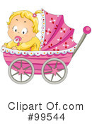 Royalty-Free (RF) Baby Clipart Illustration #99544