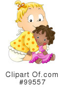 Royalty-Free (RF) baby Clipart Illustration #99557