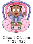 Royalty-Free (RF) Baby Girl Clipart Illustration #1234920