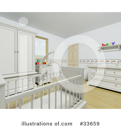 Crib Clipart #33659 by KJ Pargeter
