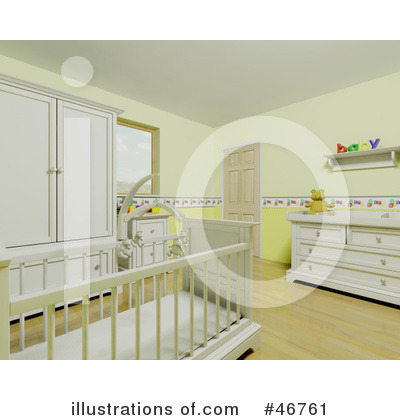 Crib Clipart #46761 by KJ Pargeter