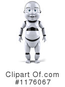 Royalty-Free (RF) Baby Robot Clipart Illustration #1176067