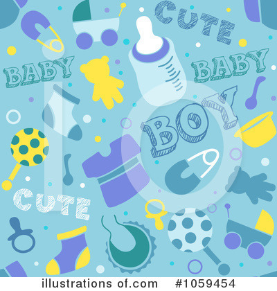 Baby Shower Clipart #1059454 by BNP Design Studio