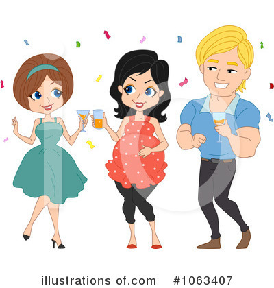 Baby Shower Clipart #1063407 by BNP Design Studio